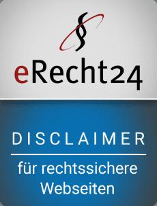 e-recht24 disclaimer