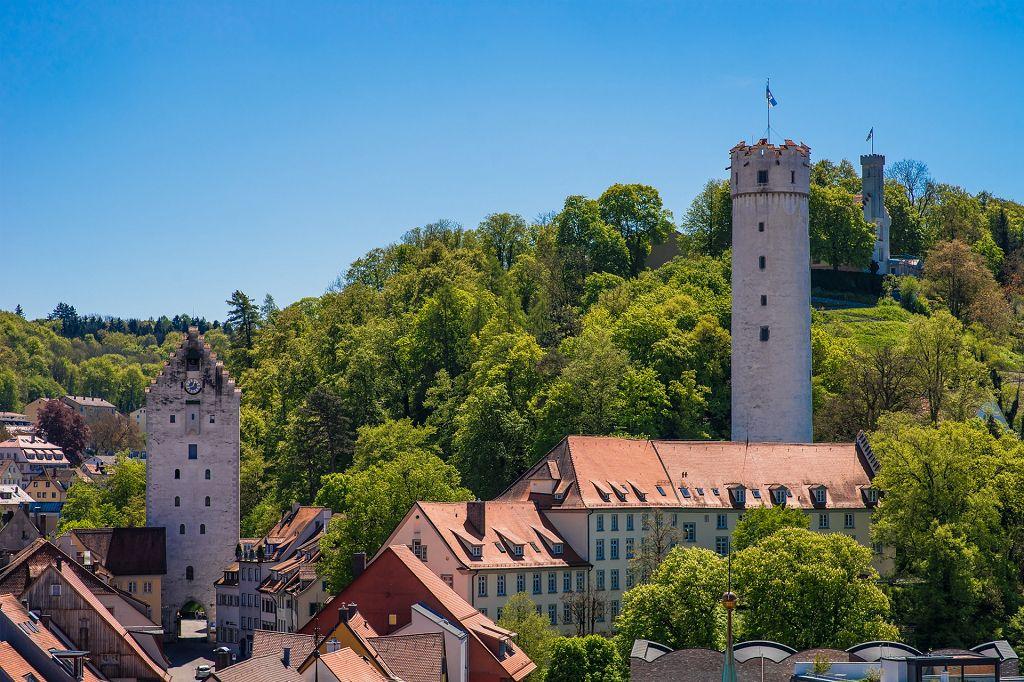 Bild zeigt historische Türme aus Ravensburg